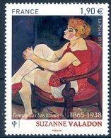 FRANCE 2015 - Suzanne Valadon - Femme Aux Bas Blancs - YT 4977 - Musée Imaginaire ** - France