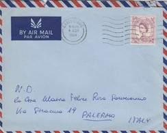 GRAN BRETAGNA  / ITALIA - Cover _ Lettera _ Scritto All'interno - 1952-.... (Elizabeth II)