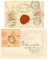 PERSIA : 1902/05 2 Interesting Covers To SWITZERLAND. Superb. - Iran