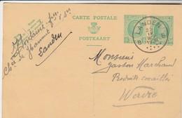 Landen , Entier Postal , Type Houyoux , 30 C + 5 C De 1928 , Fontaine  à  Landen - Landen