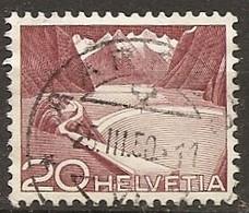 Schweiz, 1949, 301 Urtyp Aarau, 25.3.1950, Siehe Scan! - Used Stamps