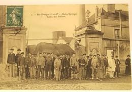 Carte Postale Ancienne - 2- Ris Orangis (S.et O.) -usine SPRINGER- Sortie Des Ateliers  1908 - Ris Orangis