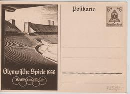 228PR/ Deutsches Reich Ganz.Pk Olympische Spiele 1936 Berlin 1-16 August  MINT - Sommer 1936: Berlin