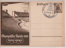 229PR/ Deutsches Reich Ganz.Pk Olympische Spiele 1936 Berlin 1-16 August  C.Berlin Olympia-Stadium 14/8/36  MINT - Sommer 1936: Berlin