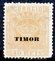 !■■■■■ds■■ Timor 1886 AF#05(*) Crown 40 Réis 12,5 (D118) - Timor