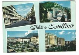 3405 - SALUTI DA AVELLINO 4 VEDUTE 1967 - Avellino