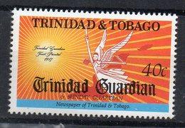 TRINITE ET TOBAGO - TRINIDAD AND TOBAGO - 1993 - TRINIDAD GUARDIAN - 75 Th ANNIVERSARY - 75éme ANNIVERSAIRE - - Trinité & Tobago (1962-...)