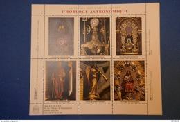 227 FRANCE BLOC L HORLOGE ASTRONOMIQUE CATHEDRALE DE BEAUVAIS   6 TIMBRES - Ungebraucht
