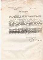 Croix De Feu & Briscards / 1933 / Note Très Secrète / Manifestations Commerçants, Agriculteurs - Documents Historiques