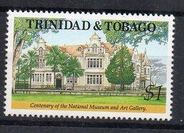 TRINITE ET TOBAGO - TRINIDAD AND TOBAGO - 1992 - CENTENAIRE - CENTENARY - NATIONAL MUSEUM - MUSEE NATIONAL - - Trinité & Tobago (1962-...)