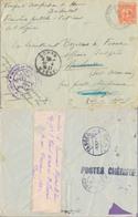 J47 - MARCOPHILIE - Cachet Troupes D'Occupation Au Maroc Occidental - 9-11-1912 - Postmark Collection (Covers)