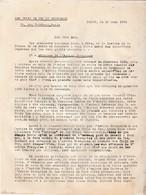 Croix De Feu & Briscards / Mars 1934/ Courrier De La Rocque / Attaques De L'Action Française Et Agressions Communistes - Documents Historiques