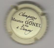 Capsule Champagne Gonel Maurice N° 23 Creme Et Noir - Sonstige