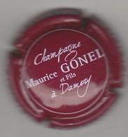 Capsule Champagne Gonel Maurice N° 23a Prune Et Blanc - Sonstige