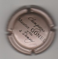 Capsule Champagne Gonel Maurice N° 23c Beige Et Noir - Sonstige