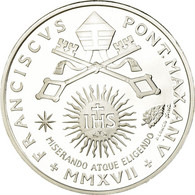 Vatican, Pape François, 10 Euro, Journée Des Malades, 2017, FDC, Argent - Vatikan
