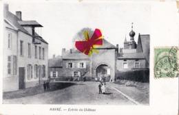 HAVRE - Entrée Du Château - Mons
