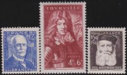 France    .    Yvert     .     599/601        .     **   .     Neuf SANS Charniere .   /   .   MNH - France