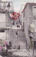 PHILIPPEVILLE - Rue Du 61 éme De Ligne - Carte Animée Et Colorée - Skikda (Philippeville)