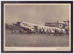 Dt- Reich (W00100) Propagandakarte Dt. Lufthansa,Fluggast Abfertigung Mit GG Marken Und SST  20.4.1944 - Briefe U. Dokumente