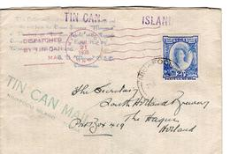 Tonga - Toga - Tin Can Mail - Niuafoou Island - Dispatched - 1936 - London Blechdosen Post - Tonga (1970-...)