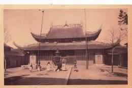 Post Card /  Une Bonzerie En Chine  (China)  -  Propagande  Missions Catholiques   Série 1  Carte 6 - Chine