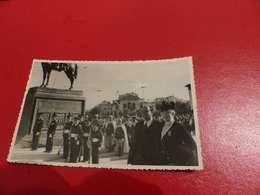 CP 48 -  Carte-Photo, Inauguration De La Statue à Casablanca, Général Lyautey - Casablanca