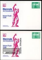 DDR PP16 B2/017 Privat-Postkarte FARBAUSFALL SCHWARZ Rostock 1981 - Cartoline Private - Nuovi