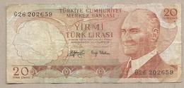 Turchia - Banconota Circolata Da 20 Lire P-187a.2 - 1979 - Turkije