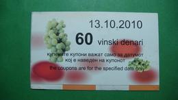 Macedonia 60 Wine Dinars 2010 - Macedonia