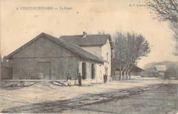 13 BOUCHES Du Rhône  La Gare De CHATEAURENARD Vue Peu Courante - Chateaurenard