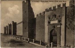 CPA VITERBO Porta Della Veritá A Cinta Delle Mura ITALY (800536) - Viterbo