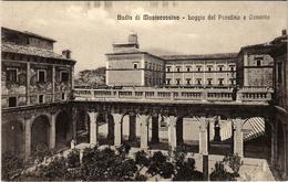 CPA Badia Di MontesCASSINO Boggia Del Paradiso E Convitto ITALY (800887) - Italia