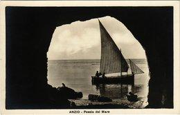 CPA ANZIO Poesia Del Mare ITALY (801263) - Italia