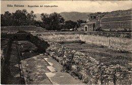 CPA VILLA ADRIANA Acquarium Del Cripto-portico ITALY (801310) - Italia