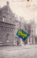 MONS - La Gendarmerie - Carte Circulé En 1911 - Mons