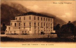 CPA Saluti Da Cava Dei Tirreni Hotel De Londres ITALY (802640) - Cava De' Tirreni