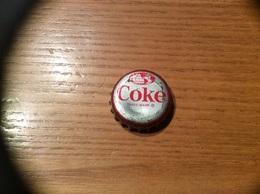 """Ancienne Capsule """"Coke N°11-BERMUDA-HORSE DRAWN CAB""""Etats-Unis (USA) Coca-Cola, Série Pays (Liège Enlevé) - Soda"""