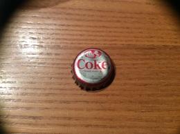 """Ancienne Capsule """"Coke N°8 - BAHAMAS - FLAMINGO""""Etats-Unis (USA) Coca-Cola, Série Pays (Liège Enlevé) - Soda"""