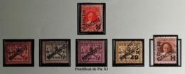 Vatican 1931 / Yvert Taxes N°1-6 / Used - Portomarken