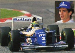 Ayrton Senna  -  Williams-Renault F1 Grand Prix  -  CPM - Grand Prix / F1