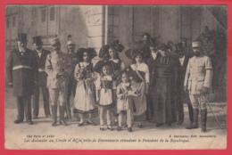 CPA-68-DANNEMARIE - Les Autorités De La Ville De Dannemarie Attendent Le Président De La République** 2 SCAN- - Dannemarie