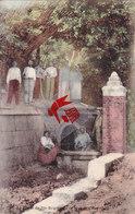 La Grotte De Sainte Brigitte De La Wesch-NOORBEEK  - Carte Trés Animée, Colorée Et Circulé En 1910 - Eijsden