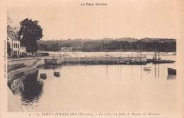 LA FORET FOUESNANT  -   La  Cale ; Au Fond  , Le Manoir De Mesmeur (edrts Quilliec ) - La Forêt-Fouesnant