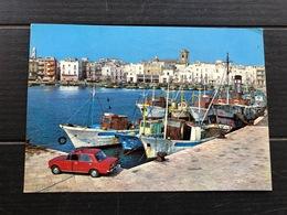 MOLA DI BARI  IL PORTO  1990 - Bari