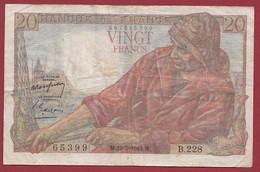 "20 Francs ""Pêcheur"" Du 19/05/1949.M-----VG/TTB--ALPH.B.228 - 20 F 1942-1950 ''Pêcheur''"