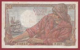 "20 Francs ""Pêcheur"" Du 03/11/1949.J-----F/TTB+--ALPH.F.237 - 20 F 1942-1950 ''Pêcheur''"