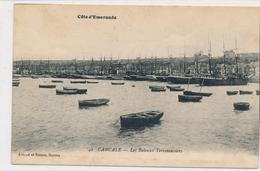CPA Côte D'émeraude 42. Cancale Les Bateaux Terreneuviers Artaud Et Nozais Nantes - Cancale