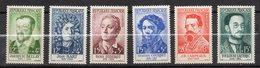 1958--Personnages Célèbres  N° 1166 à 1171 ( 6 Valeurs )-NEUFS  **-SANS Charnière--gomme Intacte- Cote  15 €..à Saisir - France