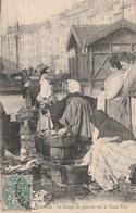 CPA - Le Lavage Du Poisson Sur Le Vieux Port - Marseille - Pêche